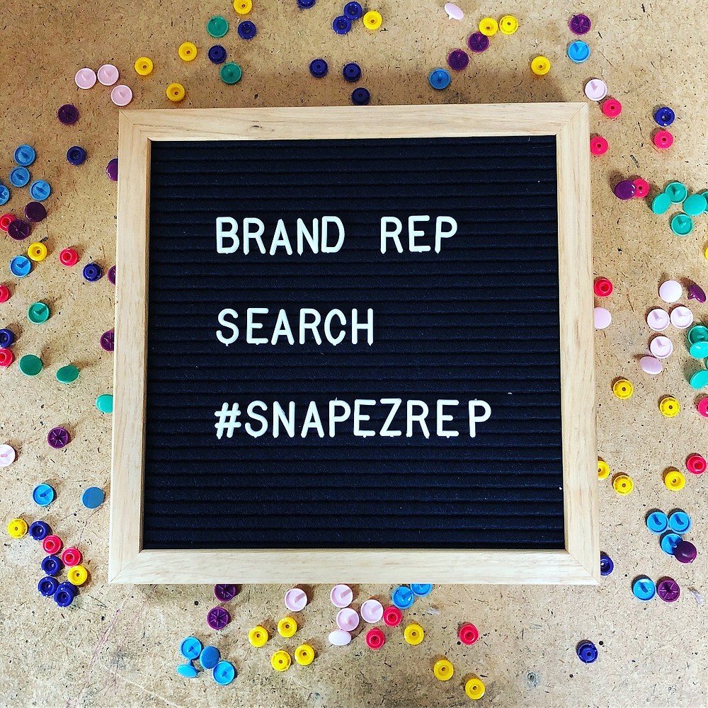 @snapezcloth Brand Rep Search