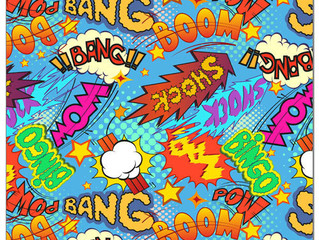 Bang, Boom, Pow! Prints are Back!