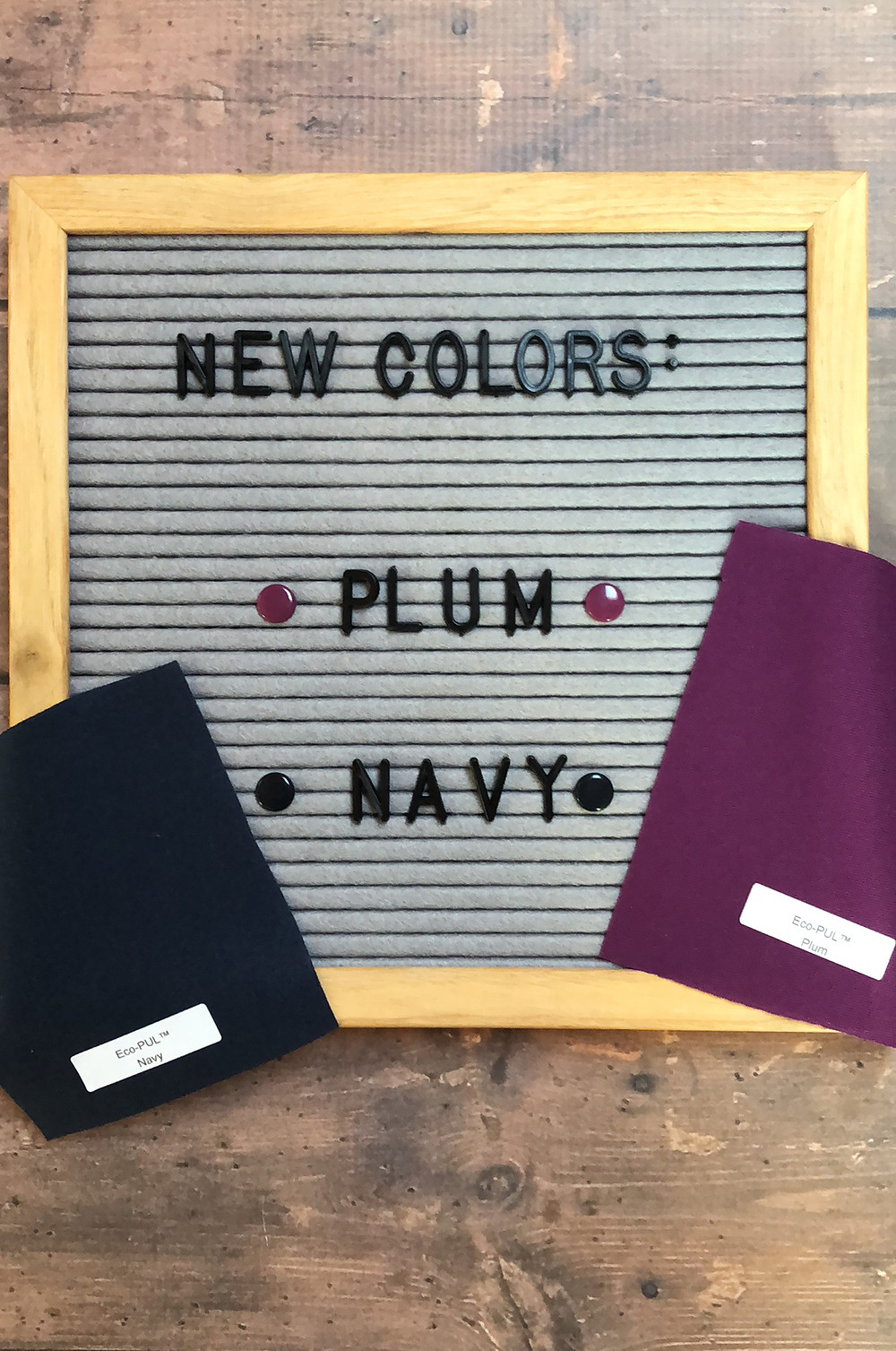 Snap-EZ diapers now in Navy and Plum