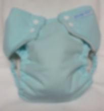 Snap-EZ Pocket Diaper snapped