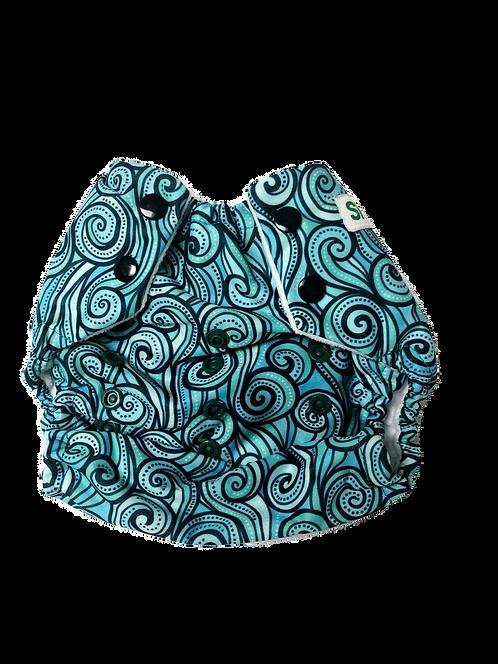 Snap-EZ ® Multi-Size Baby Pocket Diaper: Prints
