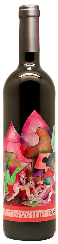 botella ROSÉ