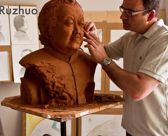 Retrato de Cui Ruzhuo
