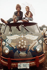 Original AP image from Woodstock 1969