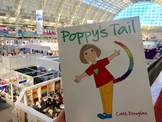 Poppy pops up at The London Book Fair!