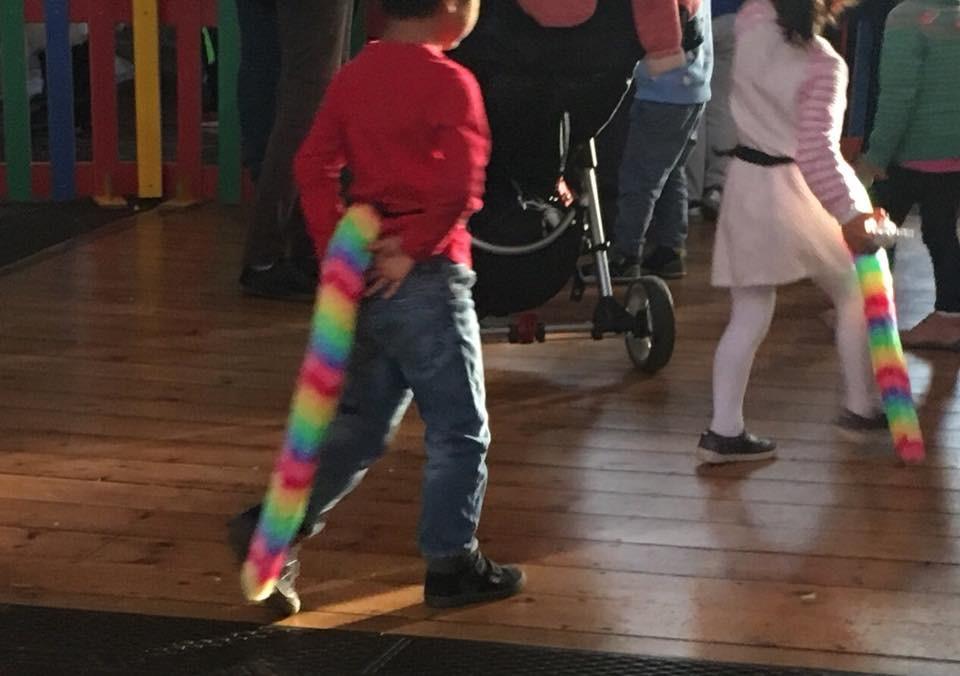 Poppy's Tails at the school Xmas fair