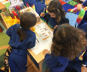 Activity Packs in reception class