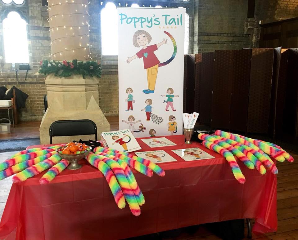 Poppy's Tail at the School Christmas Fair