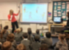 Cate Douglas reads Poppy's Tail to year 1