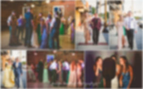 Formal, prom, dance, venue, industrial venue, photo booth, tuxedo, gown, suit, Boonville venue