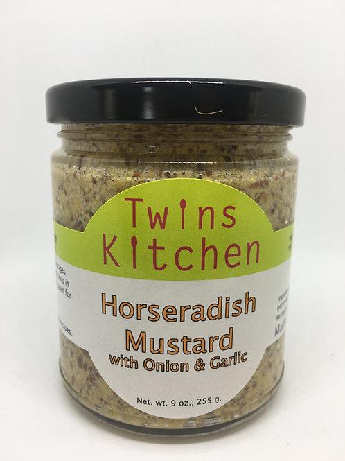 Horseradish Mustard w/Onion & Garlic