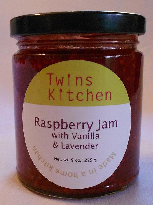 Raspberry Vanilla Lavender Jam
