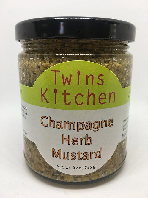 Champagne Herb Mustard
