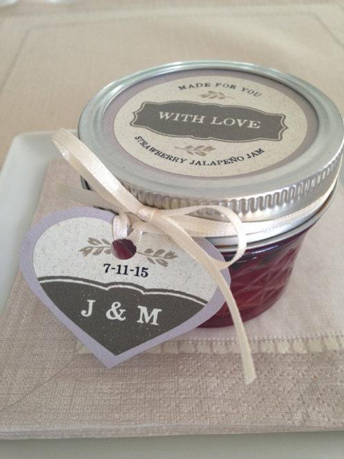 Custom jams or mustards