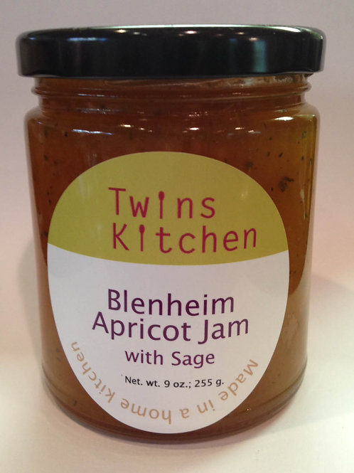 Heirloom Apricot Jam with Sage