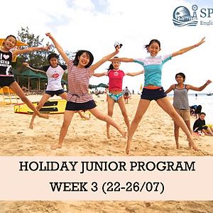 Holiday Junior Program WK 3 (22-26/07)