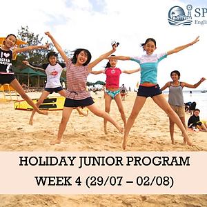 Holiday Junior Program - WK 4 (29/07 - 02/08)