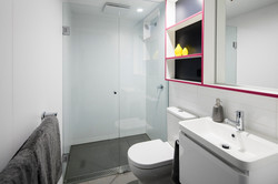 Bedroom - bathroom area