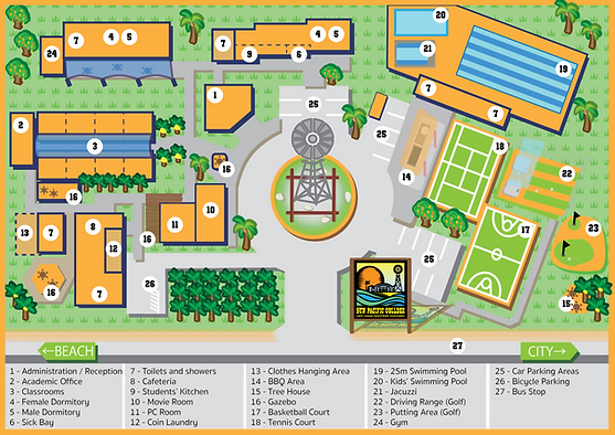 SPC Cairns - Campus Map