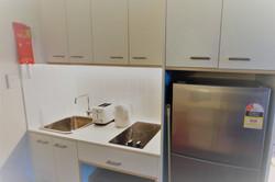 Bedroom - kitchen area