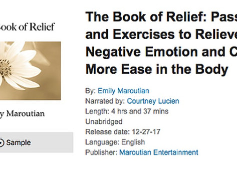 The Book of Relief on Audible