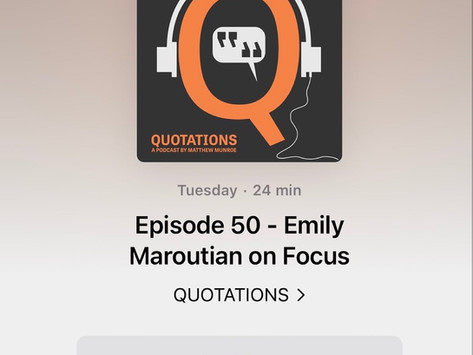 Quotations Podcast Episode 50