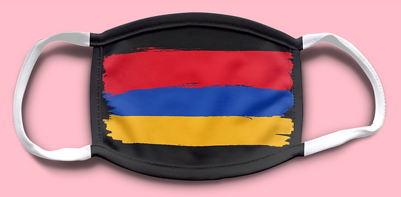 Armenian Flag Mask