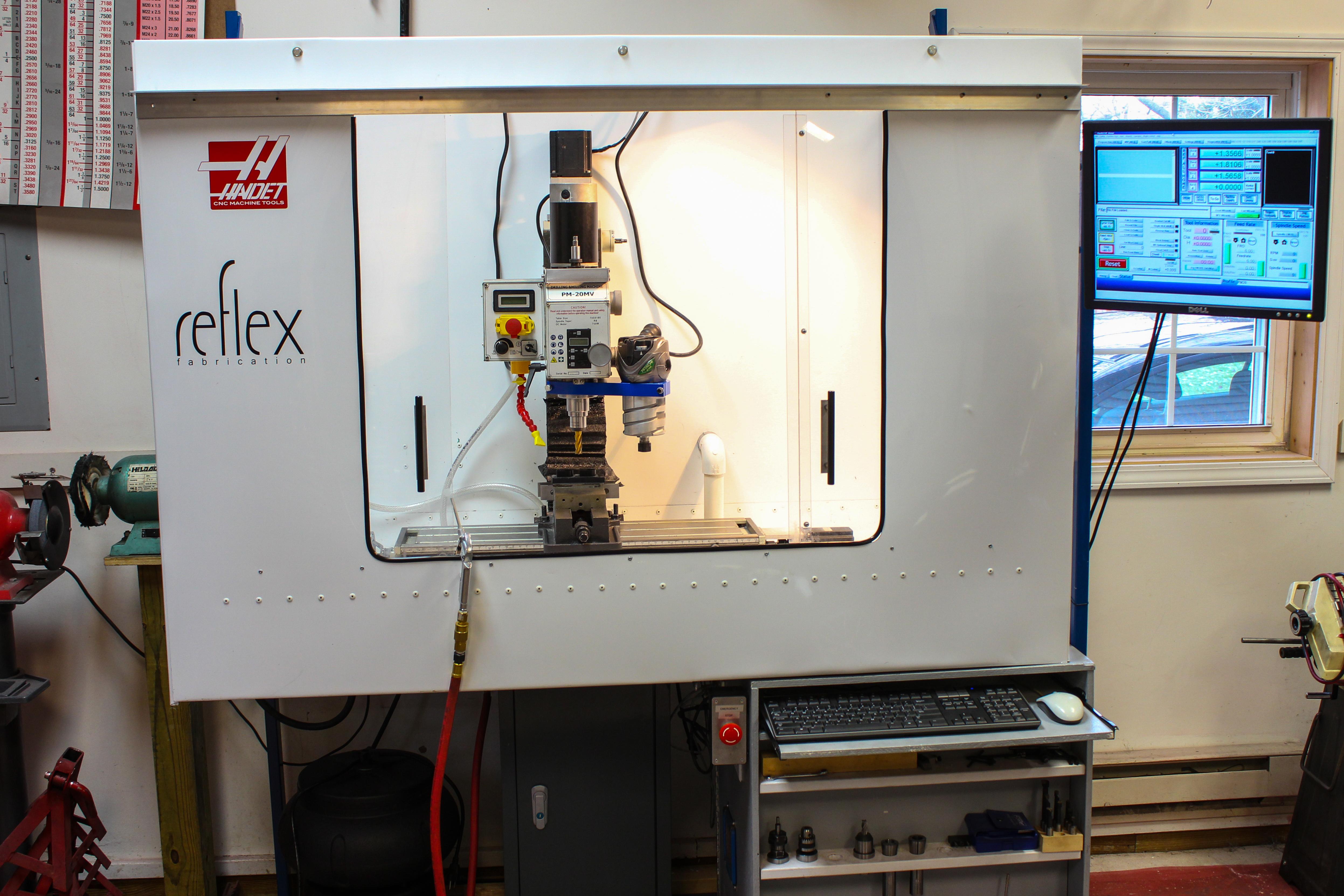 DIY CNC Mill G0704