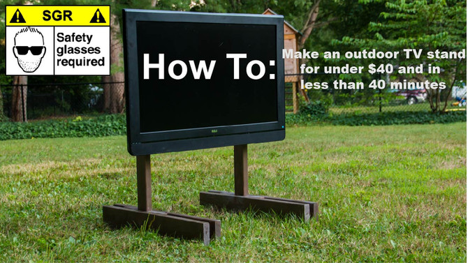 DIY TV Stand Test