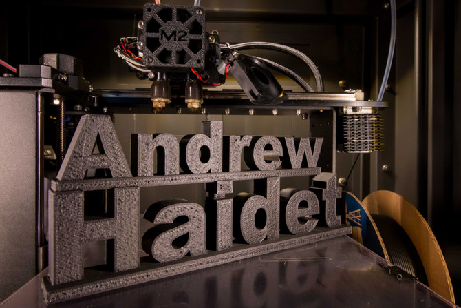 Easy 3d Printed Signs make Great Gifts