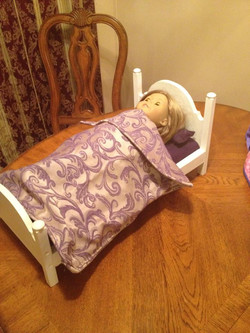 Erica's American Girl Doll Bed
