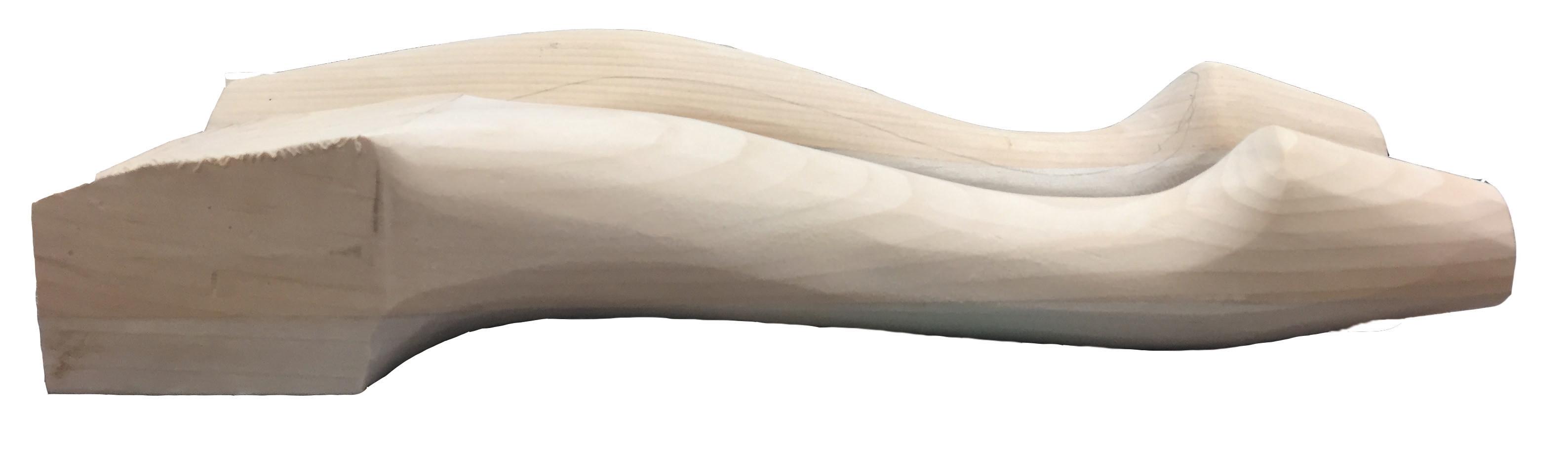 Carved leg