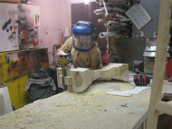 Me carving