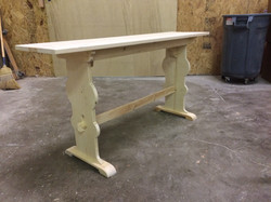 Dowelled Table
