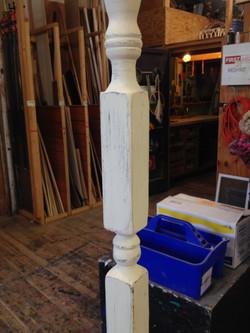 Antique White Paint Technique