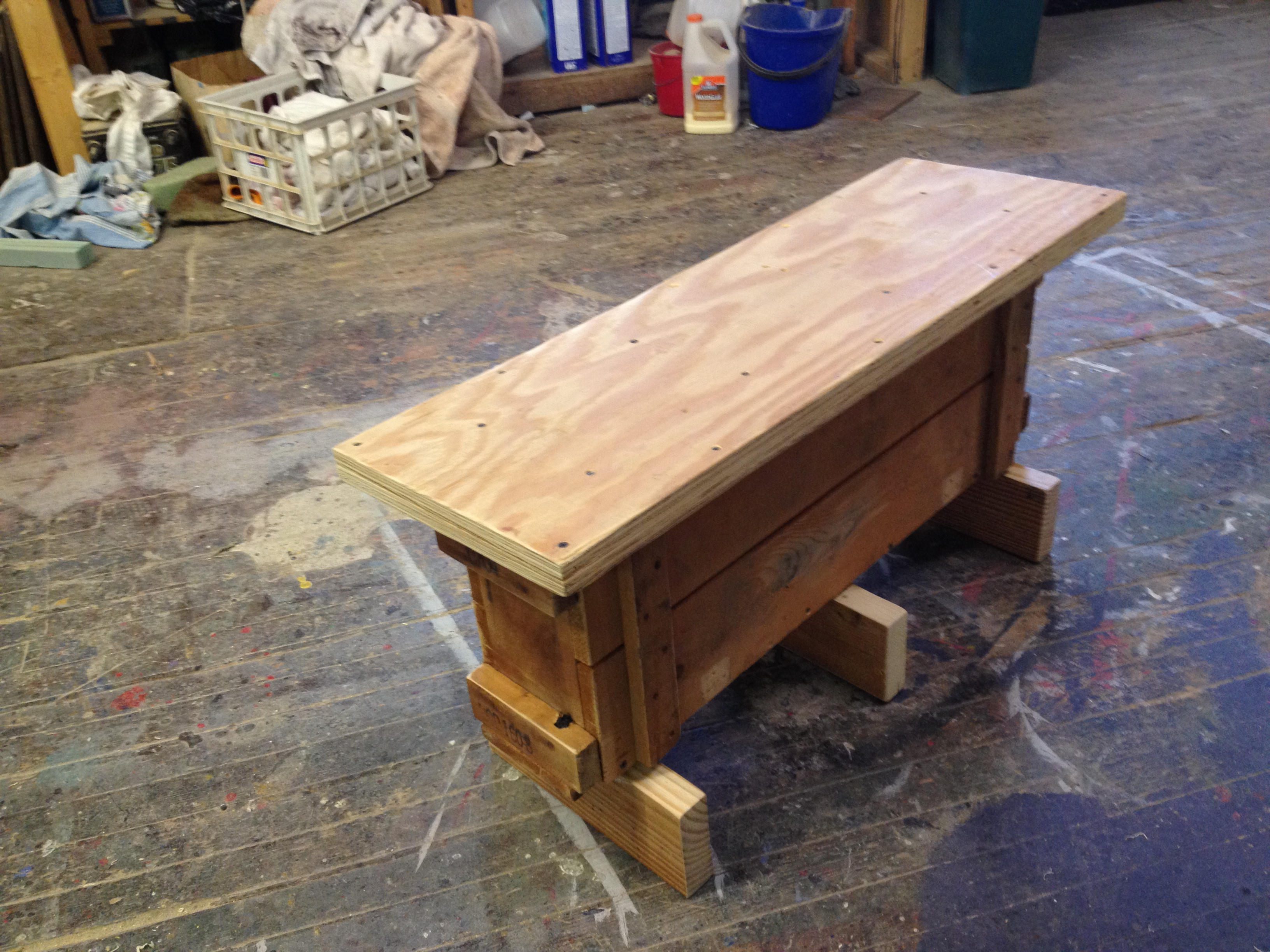 Found Object Bench