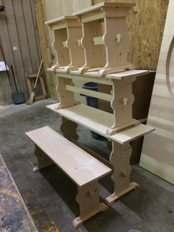 Dowelled Together Benches
