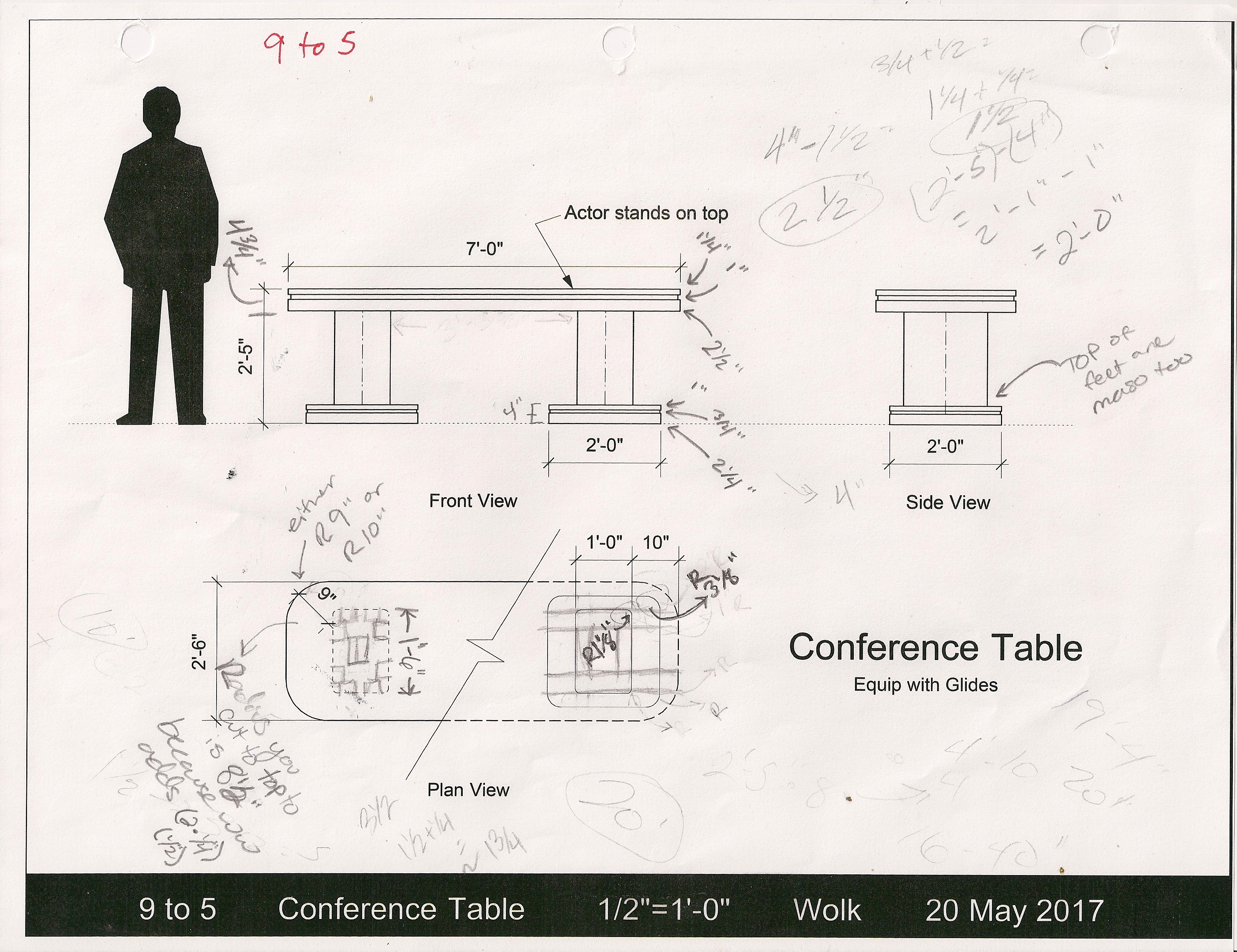 Conference Table Drafting