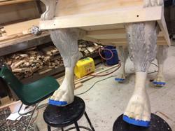 Adding in EVA foam detail