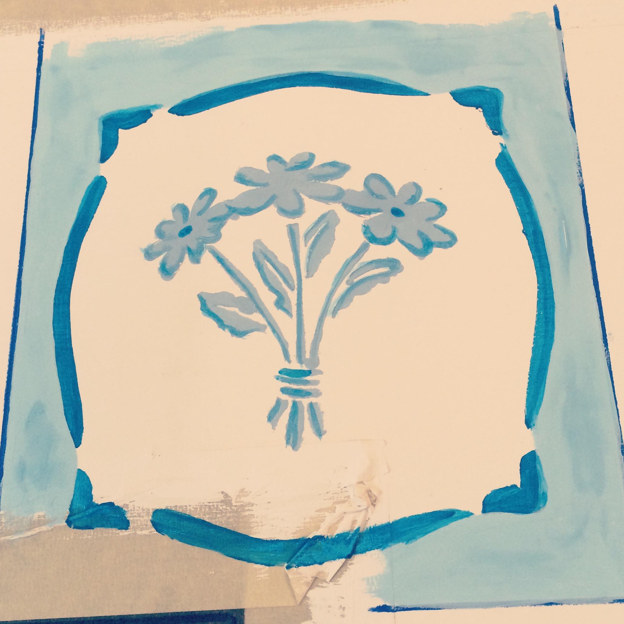 Stencil for Stove