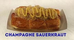 Champagne Sauerkraut