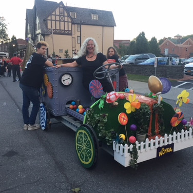 The Wonka Mobile ready...