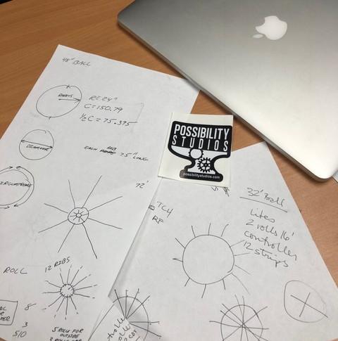 Brainstorming session.