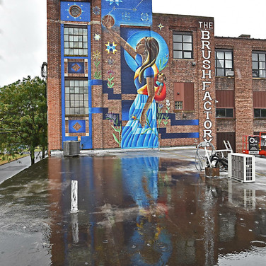 Finished Mural! Photo by: Kevin Godbey