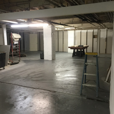 Nice open shop floor!