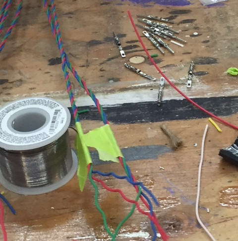 Let the soldering begin!