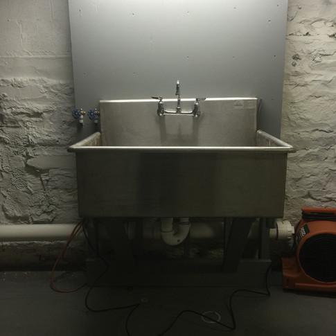 We named it, too. We call it Jonah. Darn fine sink!