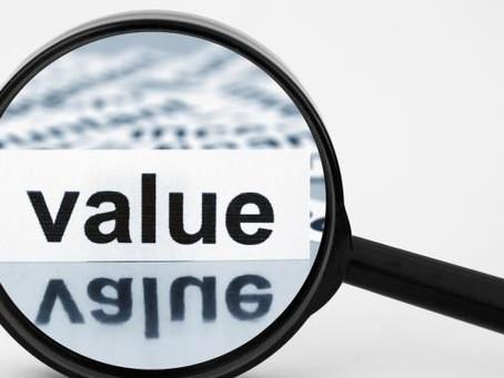 Seek VALUE When Investing in Blockchain