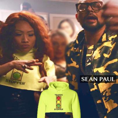 Status Avenue crop hoodie, Sean Paul, traffic stopper crop hoody, women's crop hoodie, status ave, fashion, stylist, celebrity fashion