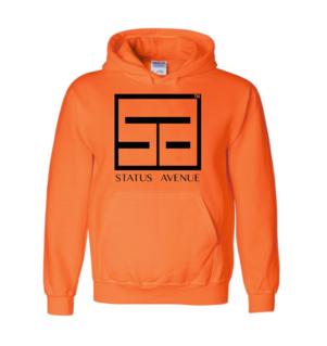 Status Avenue Neon Orange Hoodie